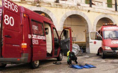 El debate paralelo al juicio penal por la muerte del bombero Navas